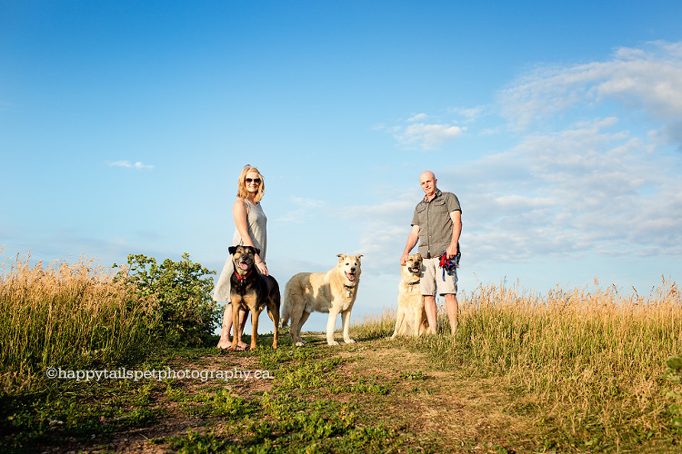 Family photography with pets by pet photographer Toronto.